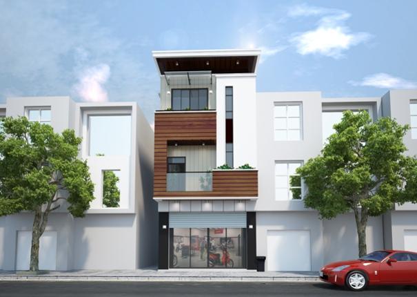Thiết kế kiến trúc nhà phố – Chị My – Hai Bà Trưng – Hà Nội