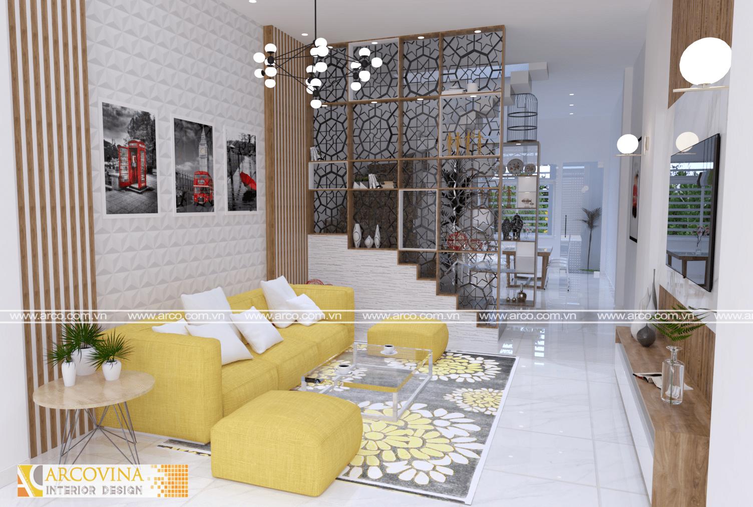 Thiết kế nội thất nhà lô ở Thành phố Cao Bằng