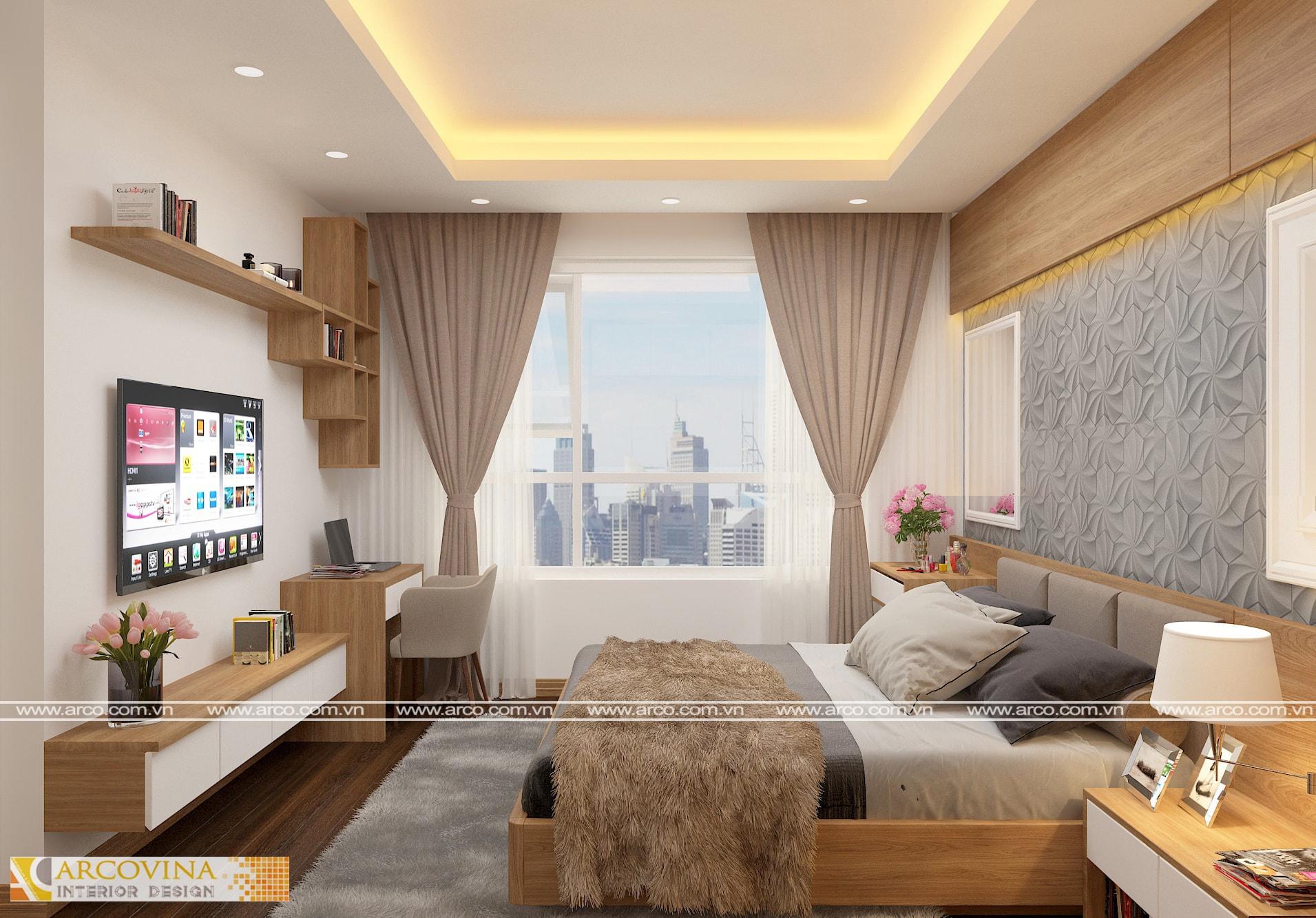 Thiết kế thi công nội thất căn hộ 29xx S1 chung cư Seasons Avenue