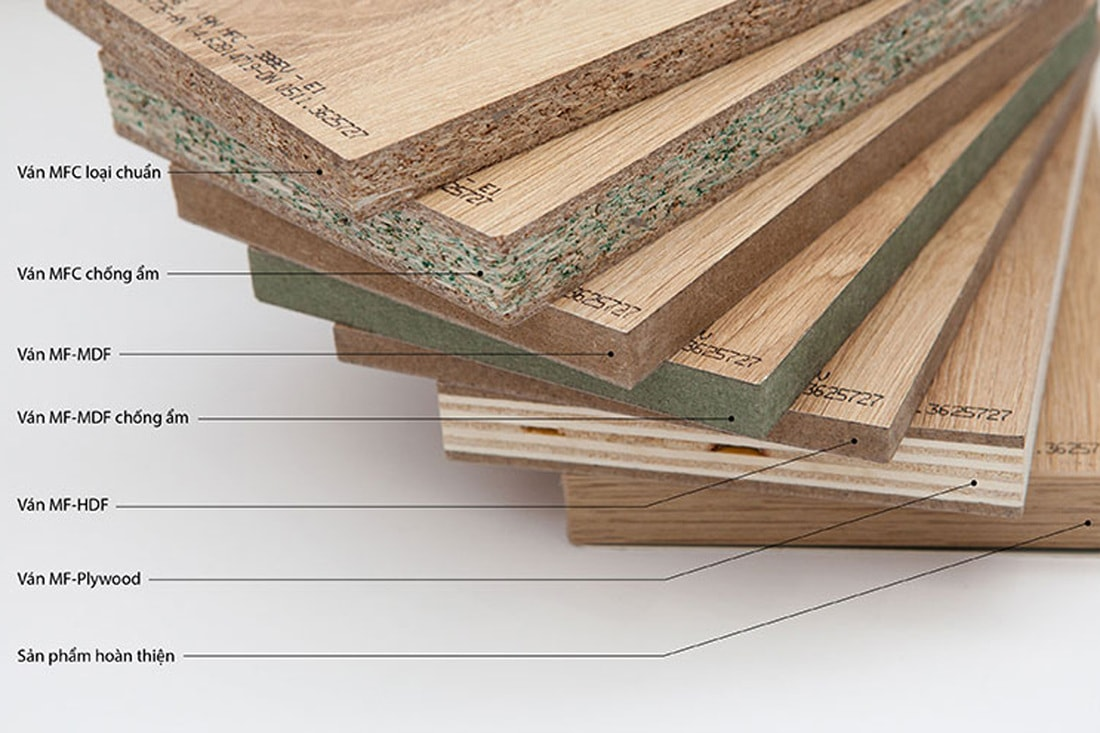 Sử dụng gỗ công nghiệp trong sản xuất đồ nội thất có thực sự tốt … ?