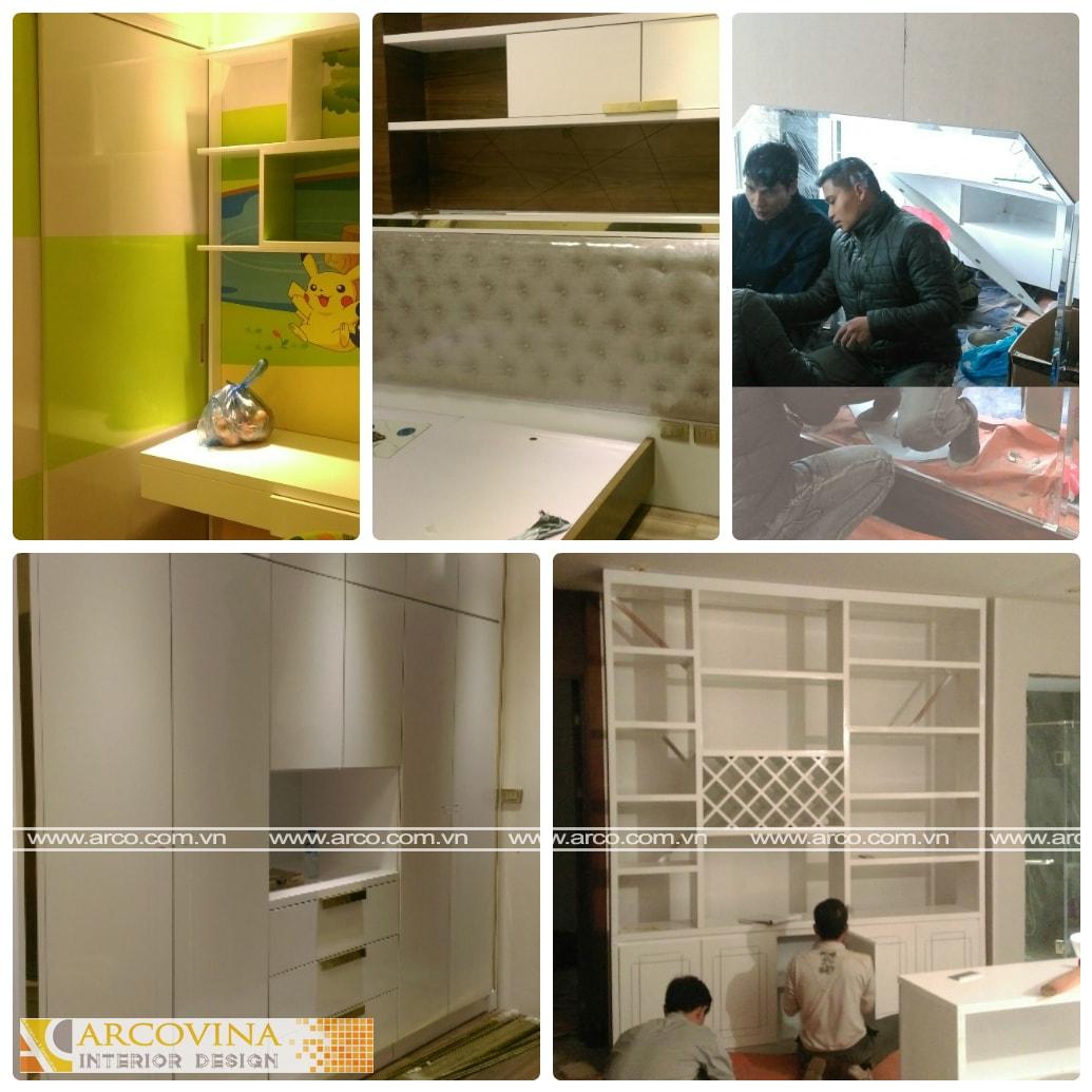 Thi công nội thất căn hộ chung cư Ecogreen City