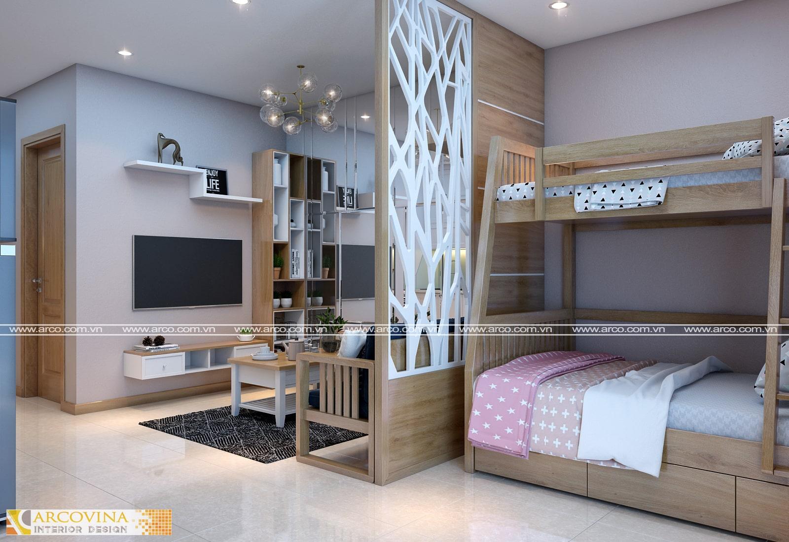 Thiết kế nội thất căn hộ D' Capitale Trần Duy Hưng- A.Hiếu